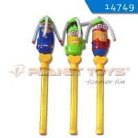 Jual Mainan B/O Stick Lampu Minion-Fan Musik Murah
