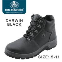 Harga murah Sepatu Safety Shoes Bata Darwin Black buruan order