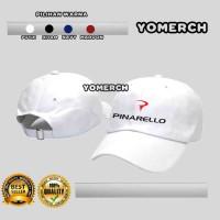 Topi Baseball Putih PINARELLO Keren Yomerch 17aa274dcf