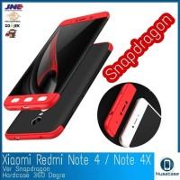 Case Casing Cover Xiaomi Redmi Note 4 4X Snapdragon Hard360 Matte Bab