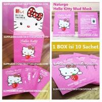 Jual Naturgo Hello Kitty Facial Whitening Mud Mask Mask Lumpur HK Murah