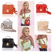 Jual Vivian Jelly Sling Bag Hand made Tas selempang jelly Murah
