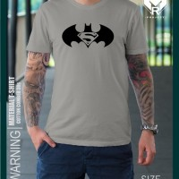 Jual Kaos Movie Batman Vs Superman Icon Design AC Murah