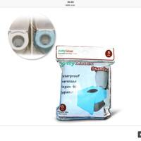 Jual [PROMO 5 PACK] Potty Liner STANDARD Disposable Toilet Seat Covers Murah