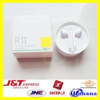 Earpod Oppo R11 Ori Earphone Handsfree Putih Headset hp R9 Neo Find F3