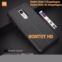 Casing Xiaomi Redmi Note 4 4X Pro Snapdragon Case Ultimate Leather K