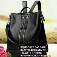 Jual BACKPACK/SHOULDER BAG IMPOR FASHION WANITA XY882 Murah