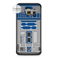 Casing Samsung S6 Edge Star Wars R2D2 Lego Hard Case Custom