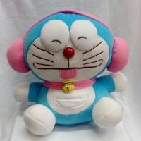 Jual Boneka Doraemon Headset Pink Cute Yelpo Halus Murah