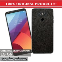Original! LG G6 Skin/Garskin for Case - Leather Black (NOT 3M)