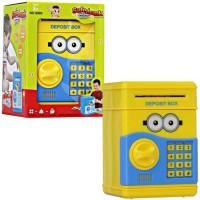 Jual Mainan edukasi anak celengan atm brankas minion - C Murah