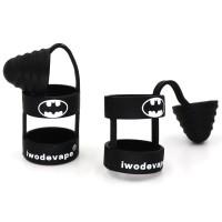 Jual Batman Rubber Band Vape dengan Drip Tip Cap - Black Murah