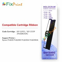 Ribbon Cartridge Printer Passbook Epson PLQ20 PLQ-20 PLQ 20 Compatible