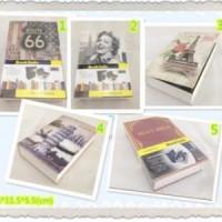 Jual (Murah) 2nd Buku Brankas / Safe Book Variasi KECIL Murah