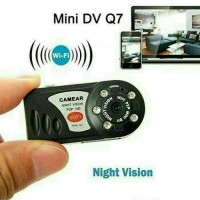 Jual Mini Dv Wifi Camera Q7/Camera Mini Dv P2P Night Vision Infrare Limited Murah