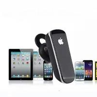 Black Headset Bluetooth 4.1 Handsfree Earphone Apple iPhone TERBAIK