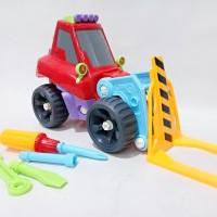 Mobil Mainan Bongkar Pasang - Mainan Mobil Forklift