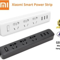 Jual  Xiaomi Mi Smart Power Strip Plug Adapter With 3 USB Port 2A Murah
