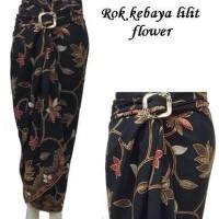 Jual Rok Lilit Batik/rok Pasangan Kebaya/bawahan Kebaya flow Limited Murah