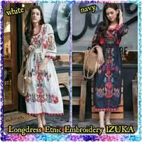 Jual Longdress Ethnic Embroidery IZUKA Murah