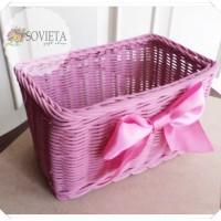 Jual Kotak Rotan Hampers Storage Pita Satin  Murah