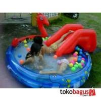Jual kolam renang anak Viking Pool perosotan | kolam ular pe Limited Murah