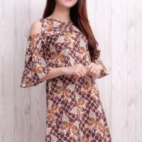 Dress Batik Wanita Jogja, Dress Batik Wanita Kerja