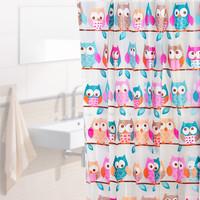 Jual OWL Tirai Kamar Mandi anti air PEVA sudah dilengkapi pengait OWL Murah