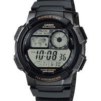 Jual Jam Tangan Casio AE-1000W-1AVDF - Hitam/Silver Murah