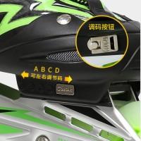 Jual Sepatu Roda COUGAR Inline Skate MZS835L Balck Green Murah