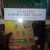 Jual SUPER ANALISIS LAPORAN KEUANGAN FINANCIAL STATEMENT ANALYSIS BUKU 1 E Murah
