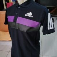 Kaos polo shirt Big Size 3XL/XXXL Adidas Bigstripe