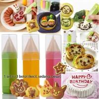 Jual Food Drawing Pen / Penghias Makanan / Botol Kecap Saos (Isi 3) - X202 Murah