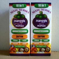 Jual Madu Kurma Kulit Manggis Propolis Zaitun Habbatussauda Pegagan 10 in Murah