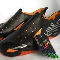 Jual Sepatu Motor Biker ALL BIKE Orange Karet ALLBIKE Hitam Orange AP BOOTS Murah