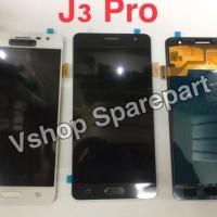 Jual Diskon Lcd + Touchscreen Samsung J3 Pro J3110 Black White Terbatas Murah
