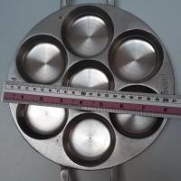Jual Hot List!!! Cetakan Kue Lumpur Lubang 7 + Tutup Aluminium Termurah... Murah