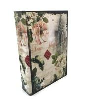 Jual Safety Box- Brankas Buku Motif New York Antik Jadul Kuno LARGE Murah