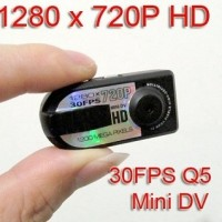 Jual Super Mini Thumb DV Q5 12 MP Full HD ( Foto, Video, Suara ) Murah