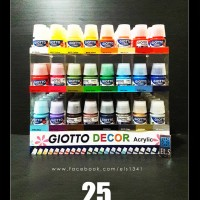 Jual Giotto Decor Acrylic Paints 25 ml - Cat Acrylic Murah