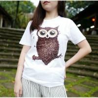 Jual OWL COFFEE TUMBLR TEE / TSHIRT / KAOS CEWEK Murah Murah