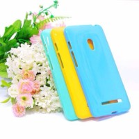 Jual Softcase TPU Kuat Mono Color Soft Case Cover Casing Asus Zenfone 6 Murah