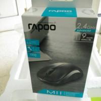 Jual Jual RAPOO Wireless Optical Mouse M11 Black Barang Wajib Murah