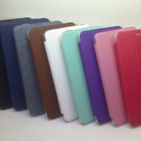 Flip Cover / Sarung HP / Leather Case For Samsung TAB 3 LITE