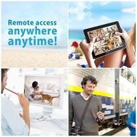 TRAND Wireless IP CCTV Dengan Sensor gerak alarm Remote Android iOs