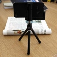 TRAND Mini Tripod Fly Stand Mobile Holder L for HP Smartphone Handph