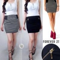 Jual DAPATKAN Forever21 Mini Skirt bodycon original branded Murah