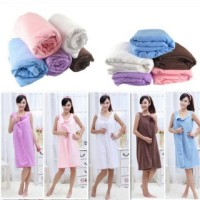 Jual WEARABLE TOWEL / DRESS HANDUK / HANDUK MULTIFUNGSI Murah