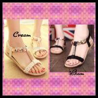 Jual (Dijamin) Flat Shoes MR26 - Sandal Flat Kepang Murah