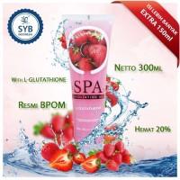 Jual LARIS STRAWBERRY SYB body spa peeling exfoliating gel BPOM Murah